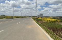 2013年VWIN真人市商都县南湖湿地公园道路工程